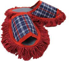 Staubtuch Hausschuhe Putz Hausschuhe Mop Schuhe Sohle Baumwolle Gr.40-43  R156