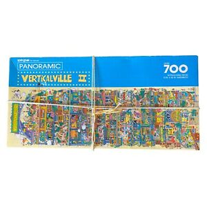 SPRINGBOK 700 PIECE JIGSAW PUZZLE ~ VERTICALVILLE 2 ~ 100% COMPLETE
