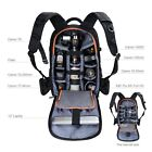 K&F Concept DSLR Camera Backpack Bag Case Waterproof Large Capacity Rain Cover