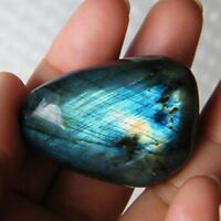 Natural Labradorite Pendant Charm Crystal Pendant Healing Stone Necklace