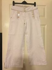 Wide Leg Mid Rise 28L Trousers NEXT for Women