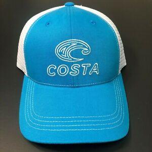 COSTA DEL MAR MONTAGE MESH TRUCKER ADJUSTABLE HAT CAP RED BLUE OR BLACK NEW
