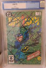 Batman 367 CGC 9.8 Poison Ivy app.