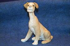 Lovely Lladro Setter Sitting Puppy Figurine No 4583 USC RD4459