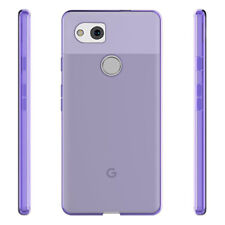 For Google Pixel 2 Case Purple Soft Slim Shock Absorbing TPU Silicone Skin Cover