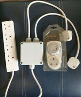Grow Light Contactor 4 Way 13 Amp Hydroponics Lighting Relay & Grasslin Timer