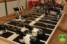 BRUSHWOOD TOYS 1:32 SCALE METAL COW CUBICLES - DOUBLE ROW BT2099 (MIB)