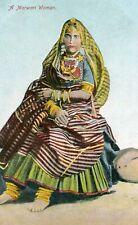 Carte INDE Rajasthan A Marwari Woman Femme en costume traditionnel