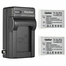 Kastar Battery AC Travel Charger for Canon NB-5L CB-2LX & Canon PowerShot S100