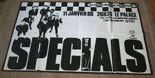Affiche / the Specials  / le Palace / 80's / Ska / Rock Steady  / Rat race