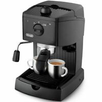 De'Longhi Traditional Pump Espresso Coffee Machine with Cappuccino System, Black