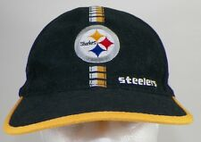PITTSBURGH STEELERS SNAP BACK PRO LINE BASEBALL HAT WITH CLOTH ADJUSTMENT STRAP