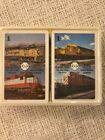 Vintage Railway System Railroad Playing Cards, New & Sealed.