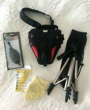 Photo Accessories Set Hama Star Tripod + Delta Camera Bag + Matin Blower +Others