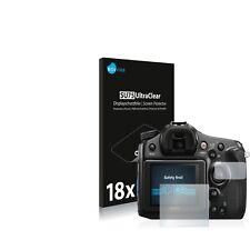 18x Film Protection écran pour Sony Alpha 68 Protecteur