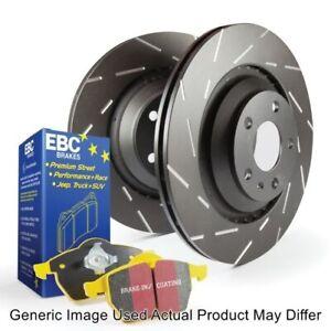EBC S9KR1037 Rear S9 Kits Yellowstuff & USR Rotors For 13-16 Audi A6 Quattro NEW