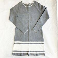 Maternity - Designer Tunic - Charcoal Gray/Ivory