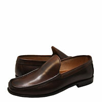 Men's Shoes Kenneth Cole In the Zone Leather Loafer KMF5LE187 BROWN