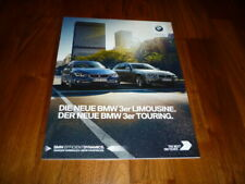 BMW 3er Limousine und 3er Touring Prospekt 2 2017