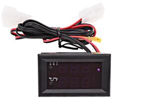Thermometer mit Alarmfunktion - blau/rot