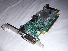 ATI Radeon X300SE 128 MB PCIe Grafikkarte Computer DVI X 300
