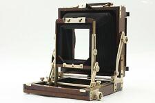 【 Near MINT- 】 Nagaoka Seisakusho 4x5 Large format Field Camera Woody from JAPAN