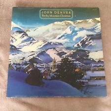 LP JOHN DENVER Rocky Mountain Christmas g/fold 1975.