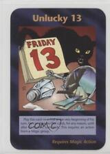 1996 Illuminati: New World Order Limited #NoN Unlucky 13 Gaming Card 2k3