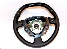 Ferrari Enzo OEM Steering Wheel Black Leather New