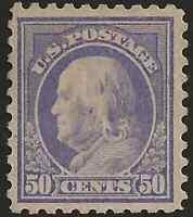 US # 440  Unused Original GUM Certificate  CV$500
