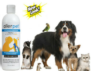 Allerpet Pet Dander Remover, 12 oz, Prevents Allergic Reactions from Furry Pets