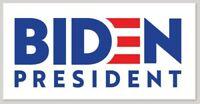 Joe Biden for President Bumper Sticker Decal 2020