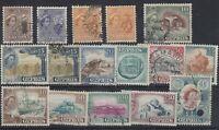 Cyprus QEII 1955 Set To £1 SG173/187 (No 500m) Fine Used J8564