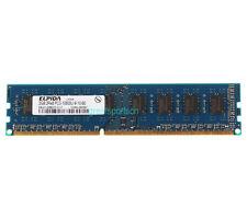 2GB Elpida 2RX8 PC3-10600 DDR3 1333MHz for INTEL DIMM Memory Desktop RAM 240PIN