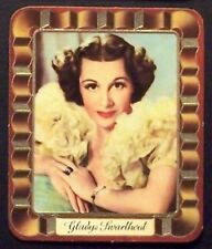 Gladys Swarthout 1937 Garbaty Passion Film Favorites Embossed Cigarette Card 178