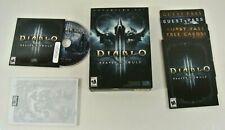 Diablo 3 Reaper of Souls Edición Coleccionista PC Caja Abierta Completa Blizzard