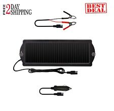 12v Solar Battery Charger Maintainer Car Boat Powered Trickle Panel Auto Marine