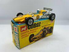 Corgi 159 Cooper Maserati F1 Car Driver Controlled Steering Original Vintage Box