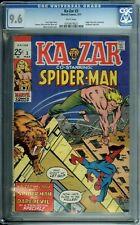 KA-ZAR 3 CGC 9.6 WHITE PAGES SPIDER-MAN DAREDEVIL X-MEN  AVENGERS Marvel 1971
