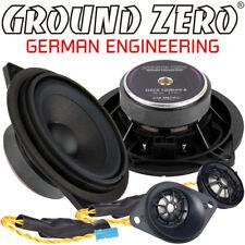 Ground Zero Gzcs 100BMW-B 10cm 2 Chemins Compo Haut-Parleur Kit pour Différentes