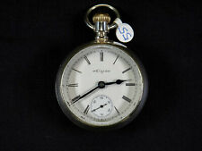 7 jewels, 1895 Antique Pocket Watch Elgin Grade 73, Model 5, 18s,