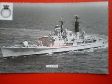 PHOTO  HMS YORK (D98) WAS A BATCH III TYPE 42 DESTROYER OF THE ROYAL NAVY.