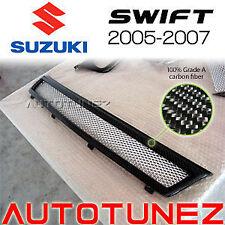 New Carbon Fiber Front Grill Suzuki Swift 2005 2006 2007 Tunezup