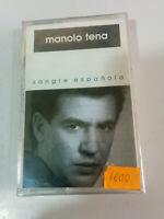 Manolo Tena Sangre Española Epic 1992 - Cinta Cassette Nueva