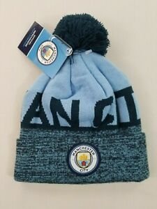 new MCFC unisex winter hat MANCHESTER CITY soccer blue one-size $35