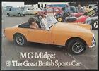 MG Midget Brochure 1971-74, Chrome Bumpers,1275cc