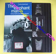 VHS film THE ELEPHANT MAN Anthony Hopkins David Lynch L'UNITA' (F95*) no dvd