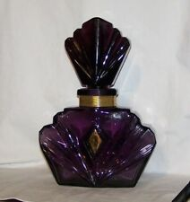 Elizabeth Taylor Passion Giant Store Display Perfume Bottle Purple Amethyst Glas