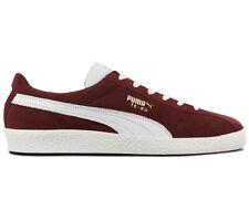 Puma Te-Ku Prime Herren Sneaker 366679-02 Leder Rot Schuhe Retro Turnschuhe NEU
