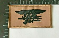 US NAVY SEAL TEAM TRIDENT PATCH (USN-11-PS) DESERT